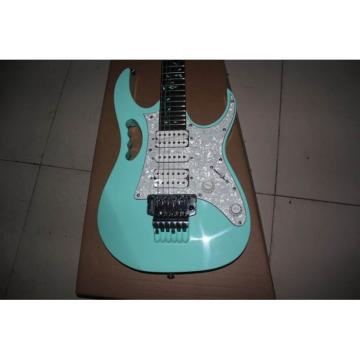 Custom JEM 7V Electric Guitar Sea Foam Green Vine Inlay