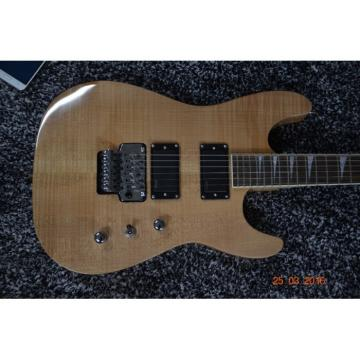 Custom Jackson Soloist Cream Natural Electric Guitar