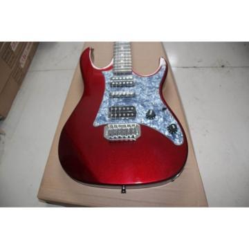 Custom Ibanez Burgundy Steve Vai Jem 7V Electric Guitar