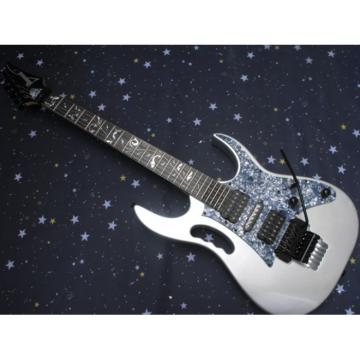 Custom Ibanez Silver Jem7v Electric Guitar