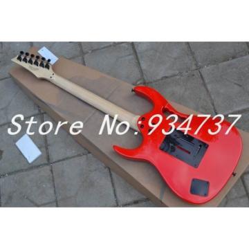 Custom Ibanez Red Steve Vai Jem 7V Electric Guitar