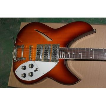 Custom Fireglo Rickenbacker 330 Vintage Electric Guitar