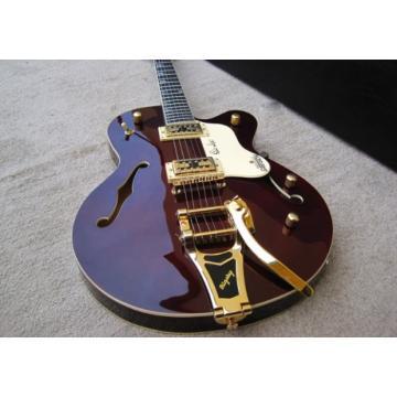 Custom G6119 Walnut Jazz Bigsby Tremolo Electric Guitar