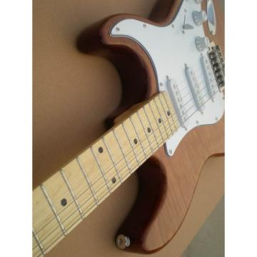 Custom Fender Stratocaster Brown Electric Guitar