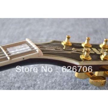 Custom ES137 Florentine LP Left Handed Fhole Vintage Electric Guitar