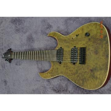 Custom Built Regius 7 String Duvell Electric Guitar Mayones Japan Parts