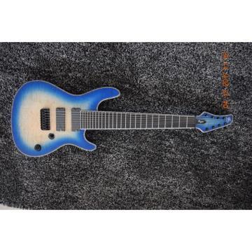 Custom Built Mayones Regius 8 String Blue Burst Electric Guitar