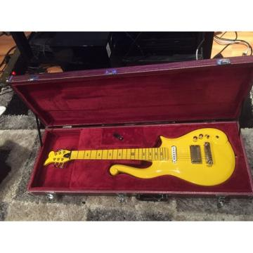 Custom Build Yellow Prince 6 String Cloud Electric Guitar Left/Right Handed Option