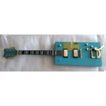 Custom Blue Gretsch G5810 Bo Diddley Electric Guitar Cigarette Box