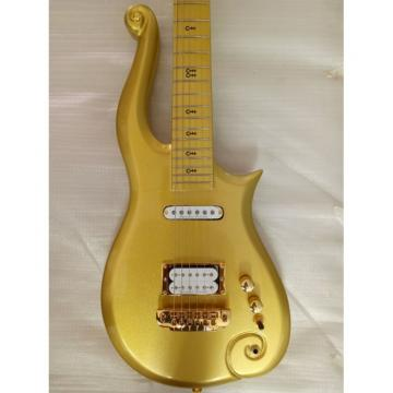 Custom Build Gold Prince 6 String Cloud Electric Guitar Left/Right Handed Option