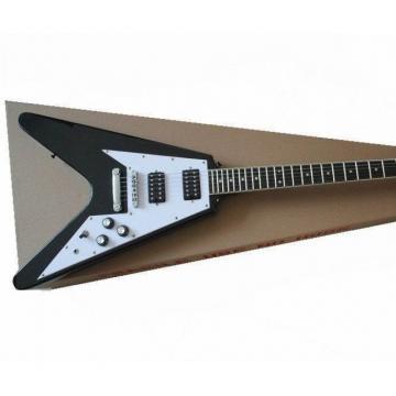 Custom Black guitarra Flying V 120 Electric Guitar