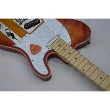 Custom American Orford Cedar Fender Delux Natural Cherry Color Electric Guitar