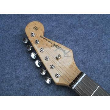 Custom American Jimi Hendrix Birds Eye Neck Electric Guitar