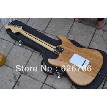 Custom American Fender Natural Stratocaster Electric Guitar