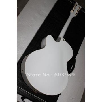Custom 6120 White Setzer Nashville Electric Guitar