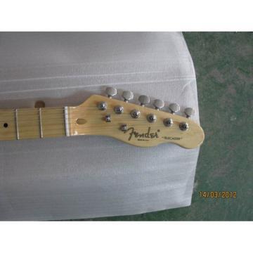 Custom American Fender Fhole Blue Electric Guitar Thinline