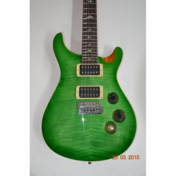 Custom 24 Tiger Green Maple Top PRS Electric Guitar