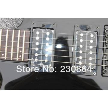 Custom  Washbn XM Black Passive Pickup Electric Guitar