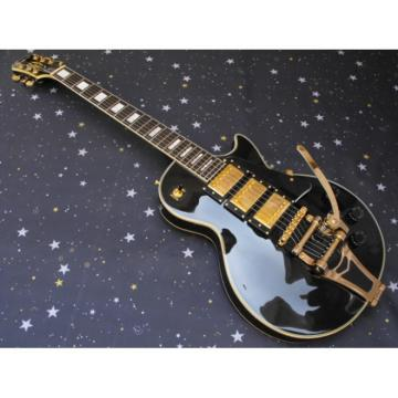Custom 1957 3 Pickup Bigsby VOS Black Beauty Epi Electric Guitar