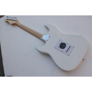 American White Fender Stratocaster Electric Guitar
