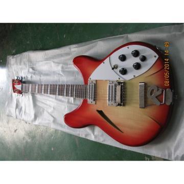 6 Strings Custom 360 2 Pickups Fireglo Electric Guitar