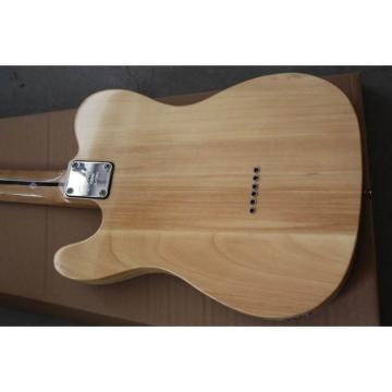 Custom Veneer Burly Wood Telecaster Electric Guitar