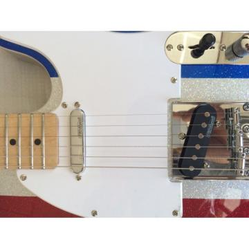 Custom Silver Hardware Buck Owens Telecaster Electric Guitar