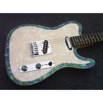 Custom Shop Telecaster Abalone Body Electric Guitar MOP