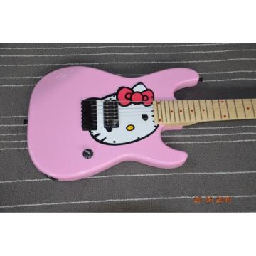 Custom Shop Stratocaster Shell Pink Hello Kitty Electric Guitar