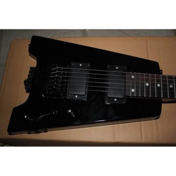Custom Shop Steinberger 24 Fret No Headstock Black Electric Guitar