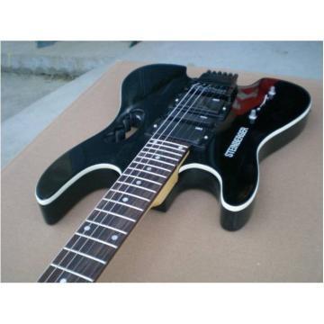 Custom Shop Black Steinberger Headless Electric Guitar