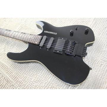 Custom Shop Black Steinberger 24 Fret No Headstock Electric Guitar