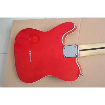 Custom Fender Telecaster Red Wine Electric Guitar