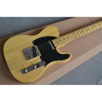 Custom Fender Telecaster Natural Wood Danny Gatton Electric Guitar