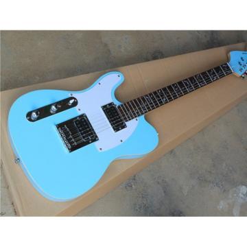 Custom Fender Left Handed Sky Blue Telecaster Electric Guitar