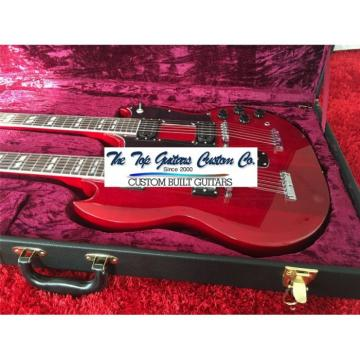 Custom Shop Double Neck Jimmy Page Black Hard Case