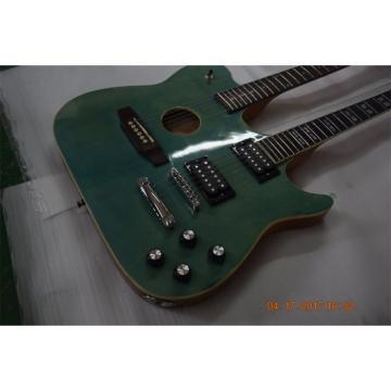 Custom Shop Guild Double Neck 6 6 Strings Electric Guitar