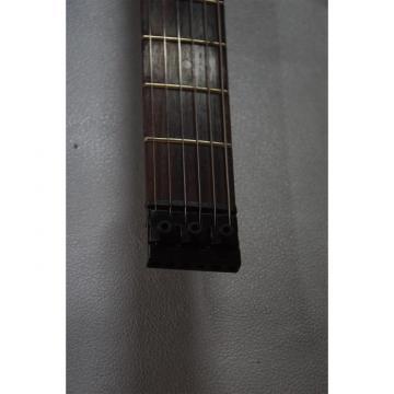 Custom Shop Sunburst Flame Maple Top Steinberger Double Neck Headless Guitar