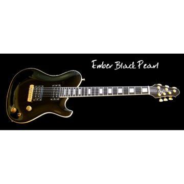 Custom Built EBP Black 6 Strings Guitar