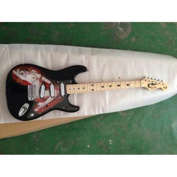 Marilyn Monroe Fender Stratocaster Playboy Guitar Silver Hardware