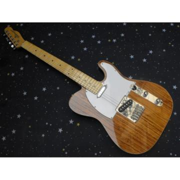 Fender Natural Wood Telecaster Guitar