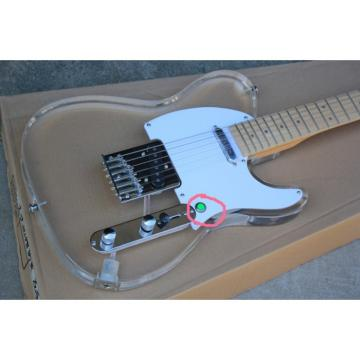 Custom Shop Multi Color Led Lights Acrylic Telecaster Fender Guitar