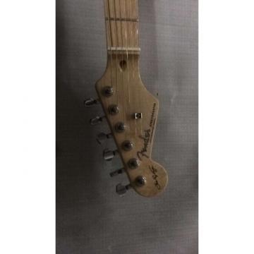 Custom Shop Left Handed Vintage Fender Stevie Ray Vaughan SRV Relic Aged Guitar