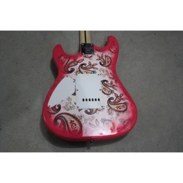 Custom Shop Fender Paisley Stratocaster Jimi Hendrix Guitar Floral