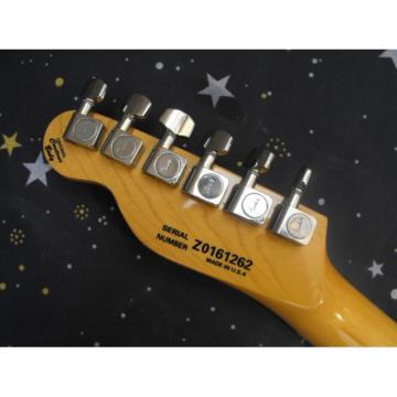 Custom Fender Jet Black Telecaster Guitar