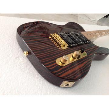 Custom Shop Fender Zebra Wood Telecaster Guitar