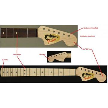 Custom Built Fender Unfinish CBS Headstock