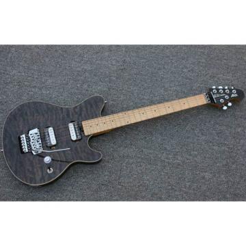 Custom Shop Music Man Ernie Ball Custom Gray 6 String Guitar Axis
