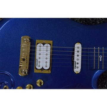 Custom Schecter Blue Prince 6 String Cloud Guitar Left/Right Handed Option Gold Hardware