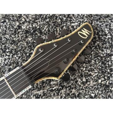 Custom Shop Setius GTM 7 Gothic Figured Red and Black Ash Top Mayones Guitar Japan Parts Katatonia